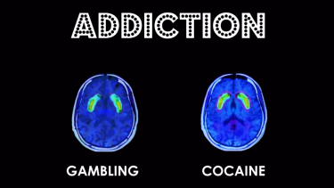 """Pulling no punches: A TV ad aimed at politicians claims pokies exploit the same part of the brain """"that is targeted by cocaine""""."""