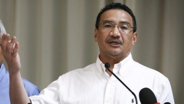 Under pressure to release information ... Malaysia's Acting Transport Minister Hishammuddin Hussein says the preliminary report into the disappearance of Flight MH370 will eventually be made public.