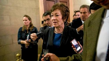 Republican senator Susan Collins spearheaded a bipartisan team that helped end the US government shutdown.