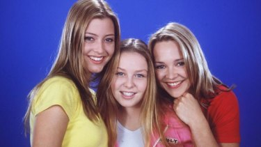 The Scully sisters: Carla Bonner starred as Steph Scully alongside Holly Valance as Felicity Scully.