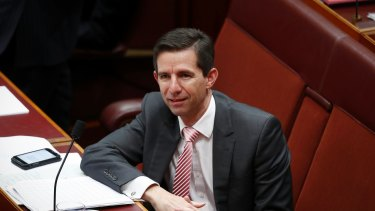 Education Minister Simon Birmingham.