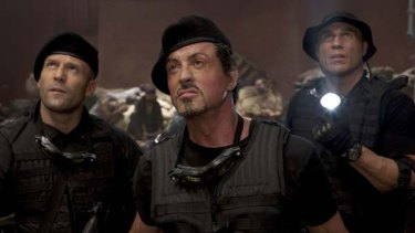 Sylvester Stallone stars in <i>The Expendables</i>.
