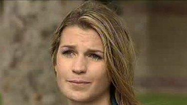 Boat crash victim, Kate Campbell.