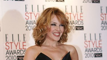 Beauty secret ... Kylie Minogue at the Elle Style Awards in February.