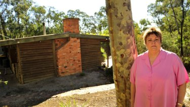 Dawn Rowan  and the St Andrews home she may lose any day after 20 years of litigation.