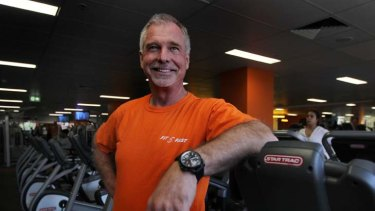 ''Incredibly detail-orientated'' ... Tony de Leede is developing his third fitness chain.
