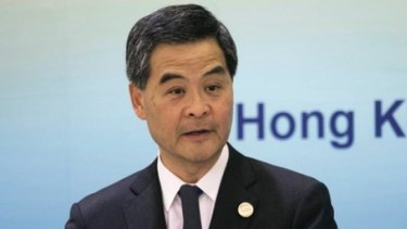 Greens senator Christine Milne has called on the AFP to investigate Australian engineering company UGL regarding formerly undisclosed payments made to Hong Kong Chief Executive C.Y. Leung (pictured).