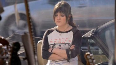 Reason to look glum? Madeleine Martin (Becca) from <i>Californication</i> - just one of the characters studied in an analysis of Hollywood portayals of menstruation.