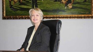 New Richmond president Peggy O'Neal.