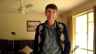 A changed man: cancer patient John Reynolds.