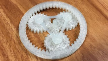 The outer ring of the planetary gears downloaded from Thingiverse prints slightly too small using the da Vinci Jr.