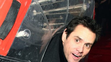 Out in the open ... Jim Carey makes his feelings known.