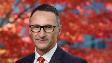 Greens leader Richard Di Natale has highlighted his party's stronger focus on the economy.