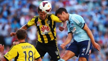 Vital clash: Sydney must overcome the Wellington Phoenix this weekend to keep on track for a semi-final berth.