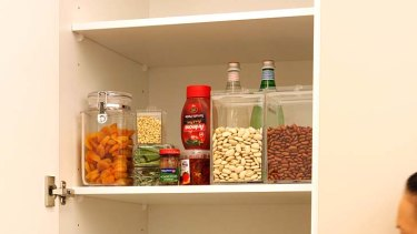 Out with the old and in with the new ... Re-organising the pantry.