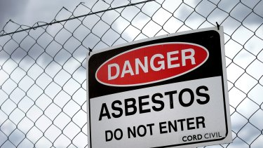 There are fears asbestos is coming into the country from overseas.