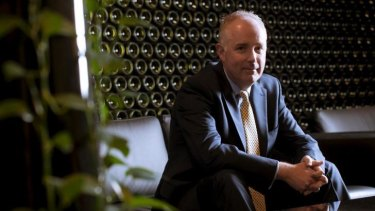 Treasury Wine Estates chief executive Mike Clarke.