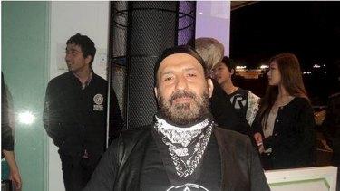 Man Monis in Rebels bikie garb.