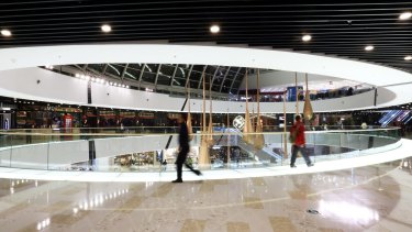 China has some of the biggest shopping malls in the world