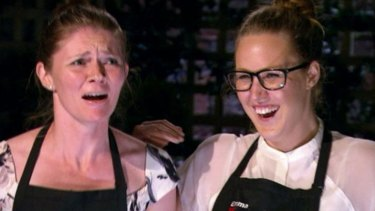 Jane and Emma lose control of their pork cheeks, which is just typical of Gen Y.
