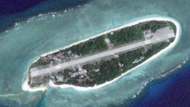 The island of Itu Aba, also called Tai Ping.