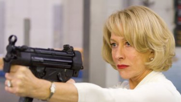 Dressed to kill ... this film is well worth catching if only for the sight of Helen Mirren wielding a semi-automatic weapon while wearing a white evening gown.