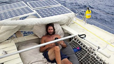"""""""I realised the enormity of the problem we're facing"""" ... David de Rothschild is sailing from San Francisco to Sydney aboard the Plastiki, kept afloat by 12,500 reclaimed plastic bottles."""