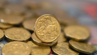The Australian dollar jumped a third of a cent on the strong figures.