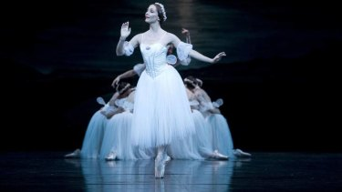 Rachel Rawlins in <i>Les Sylphides.  Photo: Alex Makayev </i>