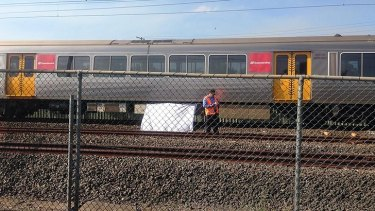 A man was killed after falling from a train at Runcorn station.