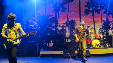 Gone but not be be forgotten ... Powderfinger play hometown Brisbane's Riverstage for the last time.