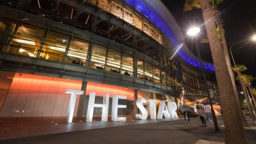 Refurbished: what The Star casino looks like now. Philip Cox has hit out at the original building, which was renovated in 2011.