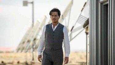 Johnny Depp gets an artificial intelligence makeover in <i>Transcendence</i>.