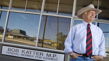 Bob Katter is a former Bjelke-Petersen government MP who could now hold the balance of power federally.
