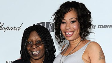 Whoopi Goldberg with her daughter Alexandrea.