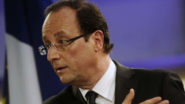 Francois Hollande vows fiscal austerity won't be the only response to the region's crisis.