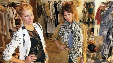 Taking a step back: sass & bide founders Heidi Middleton and Sarah Jane Clarke.