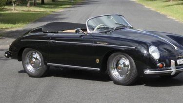 This  1957 Porsche 356A Speedster sold for $205,000 last month through Bonhams.