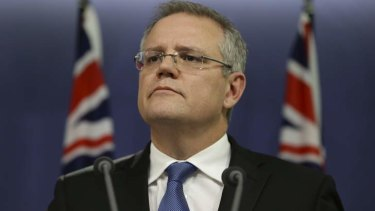 Unrepentant: Minister for Immigration and Border Protection Scott Morrison in Sydney on Friday.