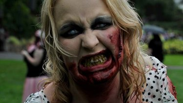 Halloween last year was the last time we saw zombies in Melbourne.