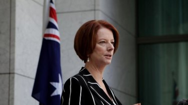 Prime Minister Julia Gillard says it was her decision alone to take action against Craig Thomson and Peter Slipper.