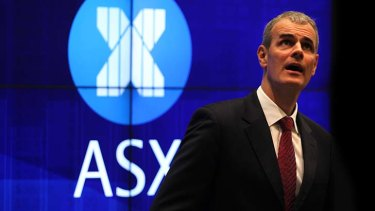 """""""Here, the behaviour of HFT is more aligned with the broader market. And as a result, we have few concerns at the moment."""": ASX chief executive Elmer Funke Kupper."""