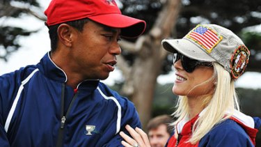 Tiger Woods and Elin Nordegren .. reportedly about to divorce.