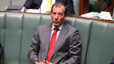 Special Minister of State Mal Brough on Wednesday.