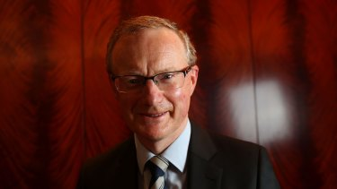 MELBOURNE, AUSTRALIA - NOVEMBER 15: Newly appointed Reserve Bank of Australia Governor, Philip Lowe is seen prior to delivering the keynote address at CEDA's 2016 annual dinner at the Park Hyatt on November 15, 2016 in Melbourne, Australia. (Photo by Pat Scala/Fairfax Media)