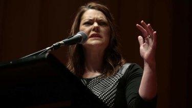 Calling on Senate to condemn government's actions: Greens Senator Sarah Hanson-Young.