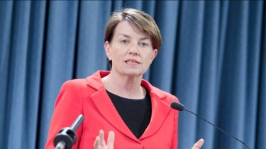 """Any NSW politician yearning for the hyperbole available to those over the border should just try substituting ''New South Welshpeople'' for ''Queenslanders'' in former Labor premier Anna Bligh's [pictured] emotional speech about the resilience of her state's residents during the floods."""