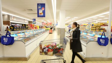 As Aldi expands in Australia, it is increasing its range of branded products.