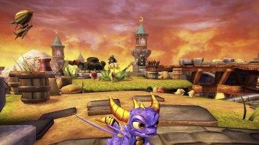 Skylanders Spyro's Adventure.
