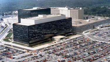The National Security Agency headquarters in Fort Meade, Maryland.